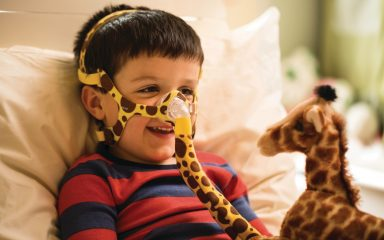 New Philips pediatric nasal mask brings big improvements for tiniest patients (PRNewsFoto/Royal Philips)