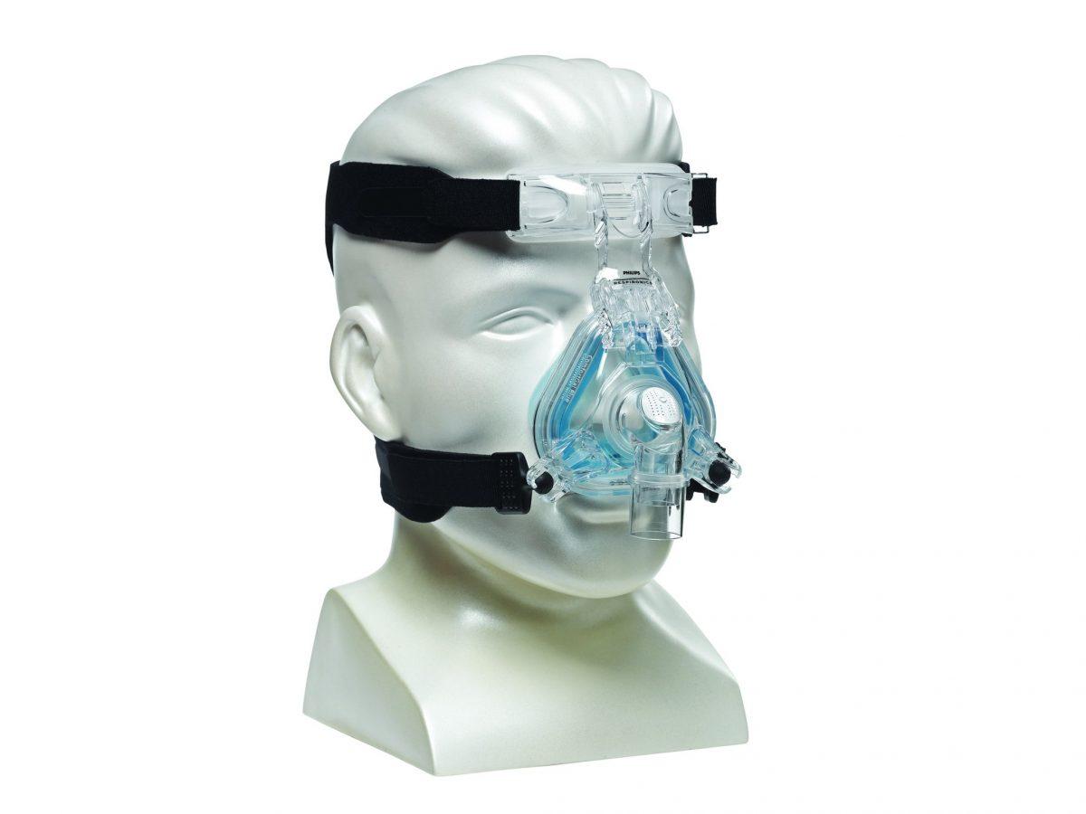 ماسک تنفسی فیلیپس مدل Comfort Gel Blue