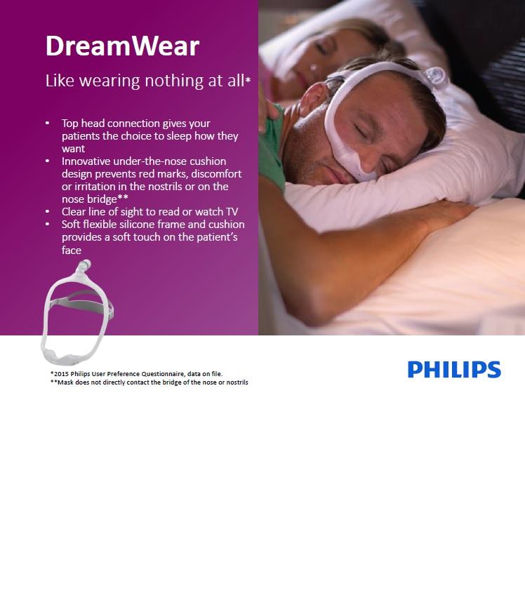 ماسک تنفسی فیلیپس مدل Dreamwear Mask