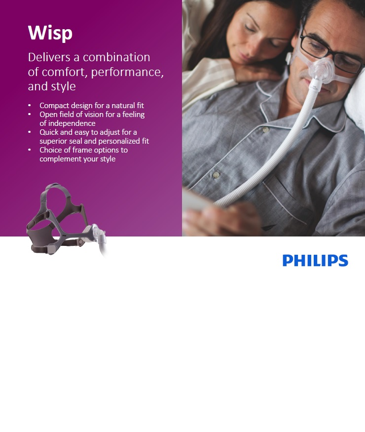 ماسک تنفسی فیلیپس مدل Wisp